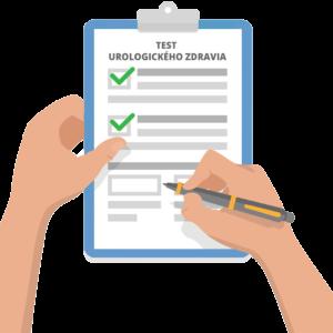 Online test urologického zdravia